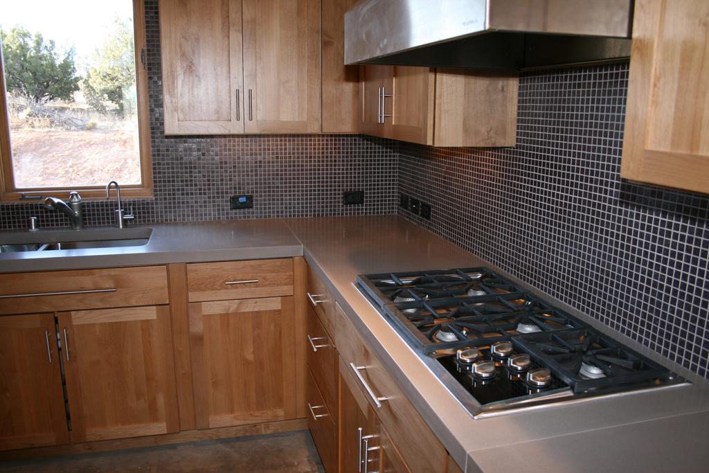 integrated tea light stove